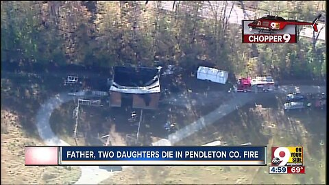 Police: Father, two daughters killed in Pendleton County fire