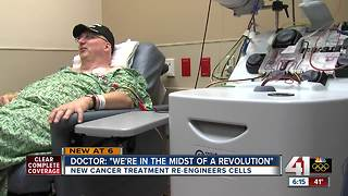 New cancer treatment is providing hope - Video