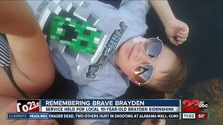 Remembering Brayden Eidenshink