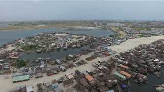 Drone Footage Shows Size of Lagos Slum Prior to Demolition - Video
