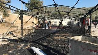 Fire Breaks Out at Moria Refugee Camp as Some Protest Dire Conditions