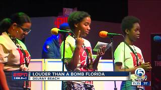 'Louder than a bomb' competition held in Delray Beach - Video