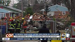 Multiple homes destroyed, people displaced after explosion in Woodlawn house - Video