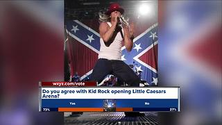 Controversy over Kid Rock opening Little Caesars Arena - Video
