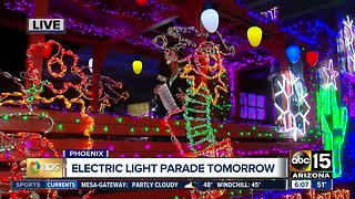 APS Electric Light Parade preparations underway