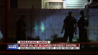 District Attorney won't file charges against officer in deadly shooting