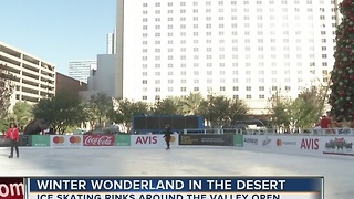 Ice rinks open for skating around the Las Vegas valley - Video