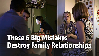 These 6 Things Are Destroying Extended Families - Video