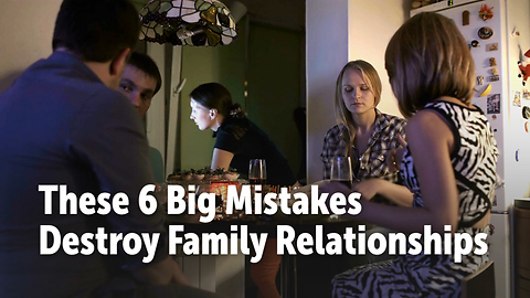 These 6 Things Are Destroying Extended Families