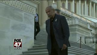 Conyers' son says treatment of dad disconcerting - Video
