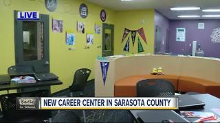 New career center open in Sarasota County - Video