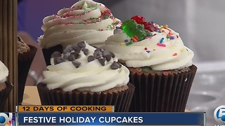 Festive holiday cupcakes - Video