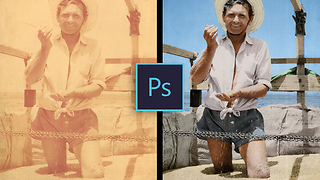 Incredible photo restoration & colorization time lapse