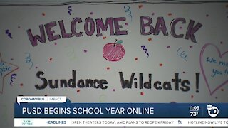 PUSD begins school year online