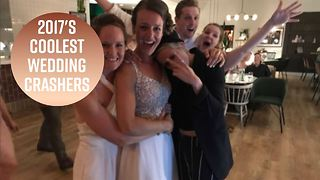 How Kristen Stewart crashed a same-sex Canadian wedding - Video