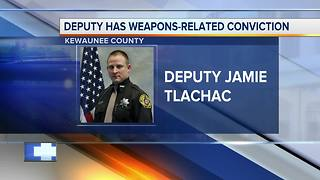 Deputy who shot and killed man has previous weapons conviction - Video