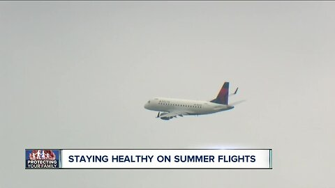 Air travel expected to be up but so are concerns about measles
