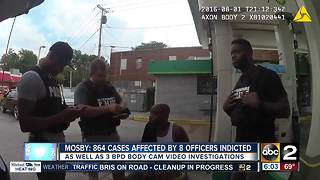 Mosby: BPD scandals possibly impact 864 cases - Video