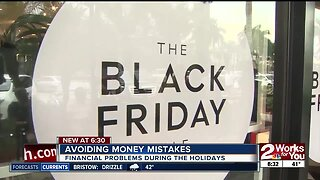 Money mistakes made during the holidays