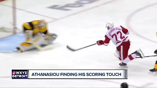 Andreas Athanasiou talks with Brad Galli about his scoring touch