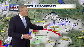Chilly and cloudy Wednesday night - Video