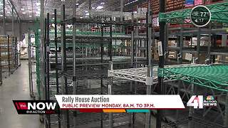 Rally House holds auction for warehouse items - Video