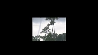 Waterspout Forms Off Florida's Perdido Bay