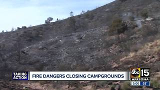 Fire dangers prompting some Arizona national forests to close - Video