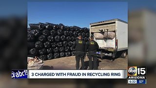 Two Arizona men arrested in $16 million recycling fraud