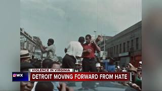 Detroit moving forward from hate - Video