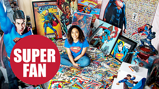 Britain's biggest Superman fan - Video