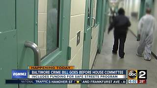 Baltimore crime bill before House of Delegates - Video