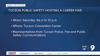 City of Tucson hosting public safety career fair Saturday