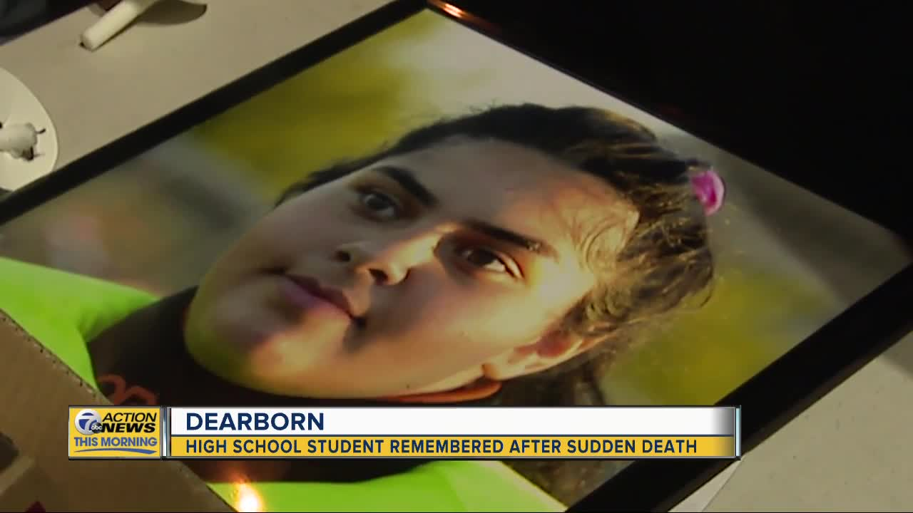 Classmates remember Dearborn High School student