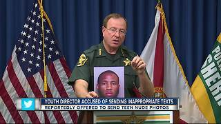 Lakeland youth leader accused of sexting teen, arrested as part of Polk sting - Video