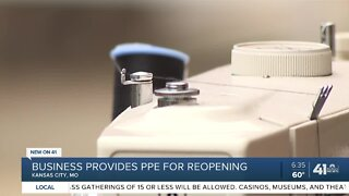 Business provides PPE for reopening