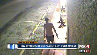 How officers decide to Baker Act vs. arrest crime suspects - Video