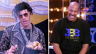 Lonzo Ball Raps to Migos' 'Bad & Boujee' in Lip Sync Battle with Dad LaVar - Video