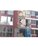 Earthquake Causes Further Damage to Weakened Building in Mexico City - Video