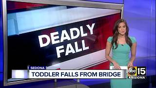 Two-year-old falls 65 feet, dies while on Sedona trail - Video