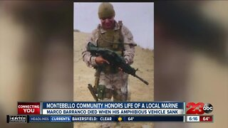 Vigil for SoCal Marine