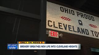 New craft brewery set to open in Cleveland Heights - Video