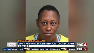 Day Care Worker Arrested for Toddler Death - Video