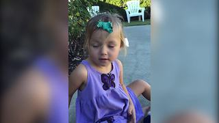 """Toddler Girl Gets Silly Putty Stuck In Her Hair"""