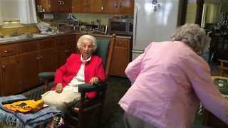 Sisters' Sibling Rivalry Entering 98th Year - Video