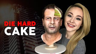 The Most EPIC Christmas Cake EVER | DIE HARD CAKE