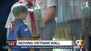 Moving Vietnam Veterans memorial in Tri-State - Video