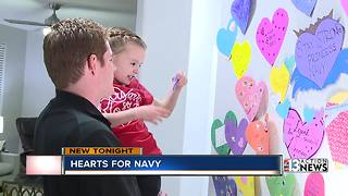 Little girl battling cancer gets a room full of hearts - Video
