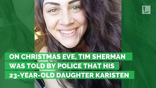 Dad Drops to Knees When Cops Say Daughter Is Dead. Tells Her Goodbye by Zipping Body Bag