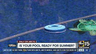 Is your pool ready for the summer? - Video